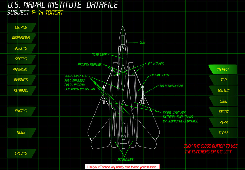 USNI Datafile - Schematic View