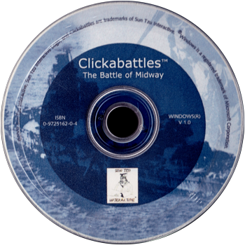 Cover of the Clickabattles: The Battle of Midway CD-Rom cover