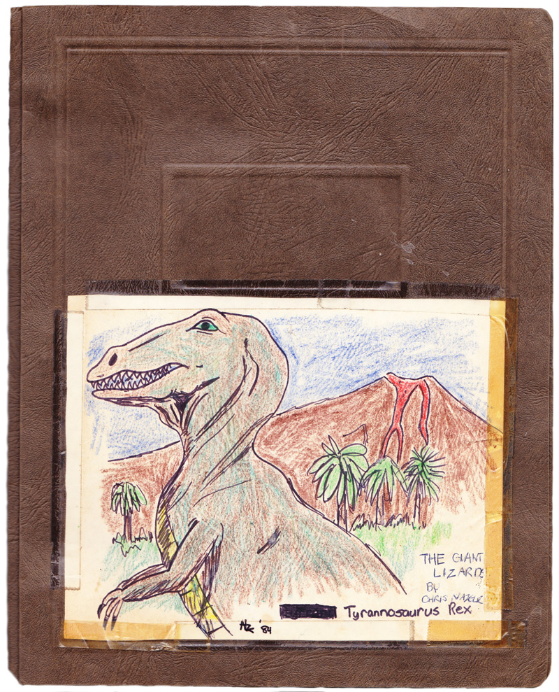 Cover of My 5th Grade Dinosaur Report