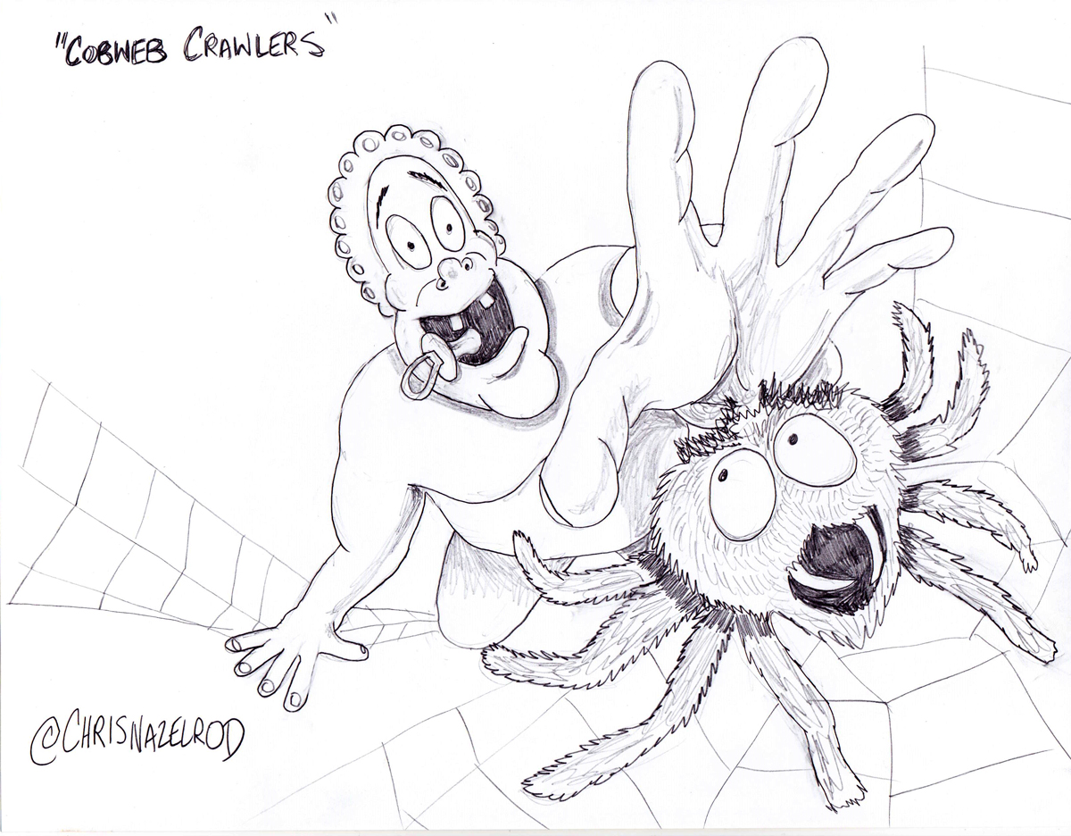 Day 7: Cobweb Crawlers