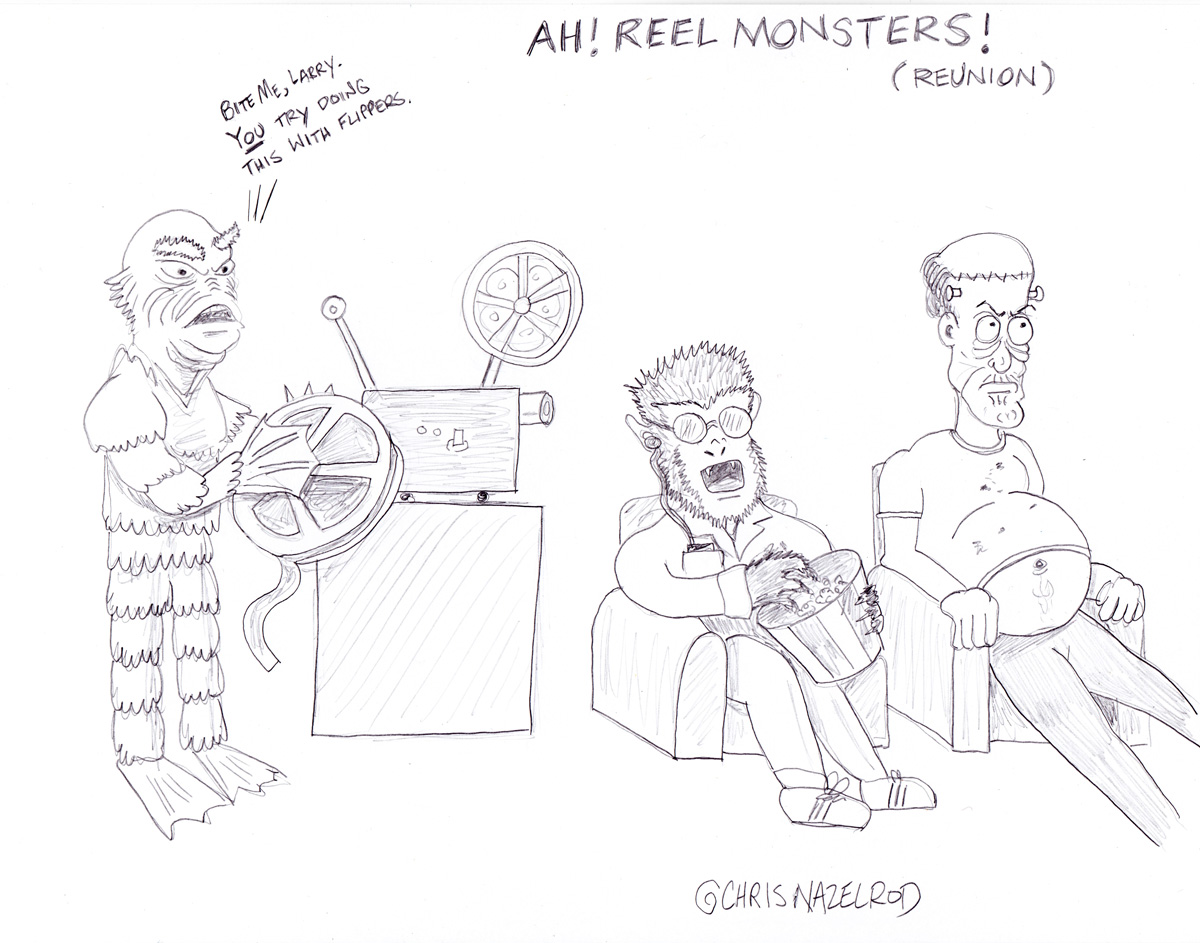 Day 12: Ah! Reel Monsters!