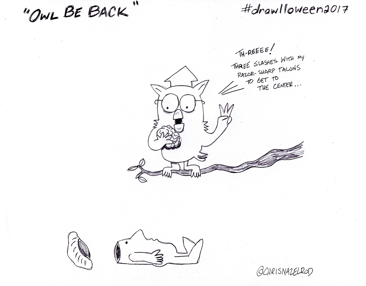 Day 14: Owl Be Back
