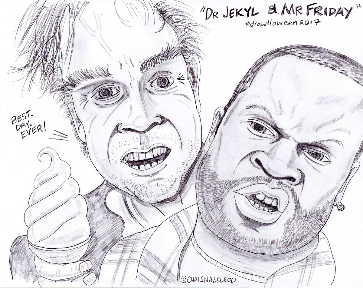 Day 20: Dr. Jekyl & Mr. Friday
